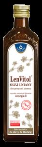 OLEJ LNIANY LENVITOL 500ml OLEOFARM