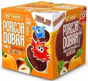Porcja Dobra Kostka Morelowo-Orzechowa z Niespodzianką!