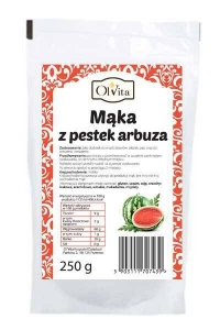 MĄKA Z PESTEK ARBUZA 250g - Olvita Mąka z Pestek Arbuza
