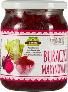 BIO BURACZKI MARYNOWANE 420 g - FARMA ŚWIĘTOKRZYSKA