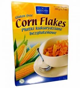 Corn Flakes Płatki kukurydziane bezglutenowe 200g - BEZGLUTEN