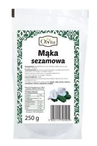 MĄKA SEZAMOWA 250 g - OLVITA
