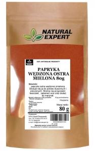 PAPRYKA WĘDZONA OSTRA MIELONA - NATURAL EXPERT