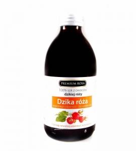 Sok z owoców Dzikiej Róży 250ml b/c P.ROSA