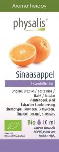 BIO OLEJEK ETERYCZNY POMARAŃCZA CHIŃSKA (SINAASAPPEL) 10 ml - PHYSALIS