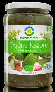 OGÓRKI KISZONE BIO 700g - BIO FOOD