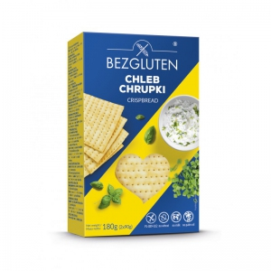 CHLEBEK CHRUPKI 180g - BEZGLUTEN