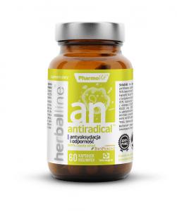 ANTIRADICAL (antyoksydacja i odporność) 60 kaprułek - PHARMOVIT