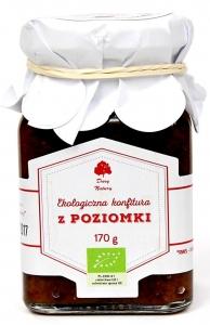 KONFITURA Z POZIOMKI BIO 170 g - DARY NATURY