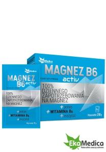 MAGNEZ B6 ACTIVE (saszetki) 21 x 10g - EKAMEDICA