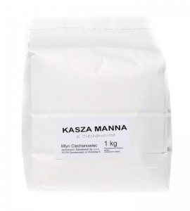 KASZA MANNA 1 kg CIECHANOWIEC