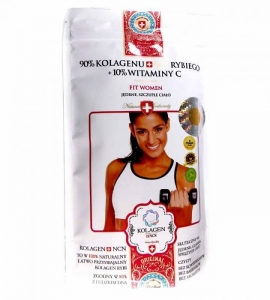 Kolagen Suplement Diety FIT WOMAN 100g