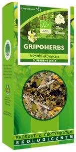 HERBATKA GRIPOHERBS BIO 50 g - DARY NATURY
