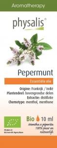BIO OLEJEK ETERYCZNY MIĘTA PIEPRZOWA (PEPERMUNT) 10 ml - PHYSALIS