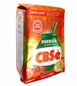 Yerba Mate CBSe Energia guarana 500g