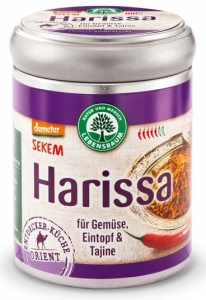 HARISSA - MIESZANKA PRZYPRAW BIO 70 g - LEBENSBAUM