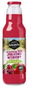 Sok Jabłkowy-wiśniowy butelka 750ml SADY WINCENTA