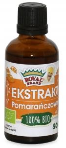 EKSTRAKT POMARAŃCZOWY BIO 50 ml - ROYAL BRAND