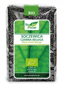 SOCZEWICA CZARNA BELUGA BIO 500 g - BIO PLANET
