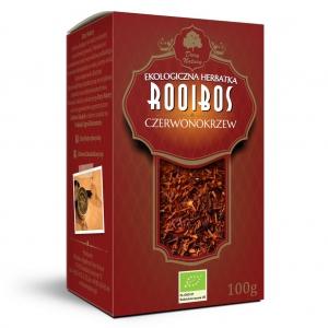 EKO HERBATA ROOIBOS (czerwonokrzew) 100g - DARY NATURY