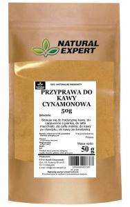 PRZYPRAWA DO KAWY CYNAMONOWA - NATURAL EXPERT