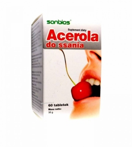 ACEROLA DO SSANIA 60 TABLETEK SANBIOS