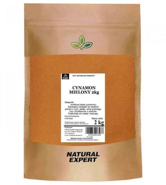 CYNAMON MIELONY - NATURAL EXPERT