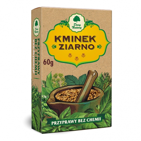KMINEK ZIARNO 60g - DARY NATURY