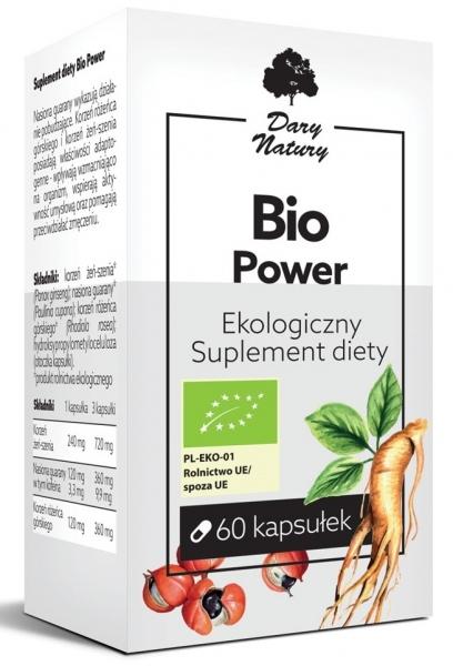 BIO POWER BIO 60 KAPSUŁEK (483,3 mg) - DARY NATURY