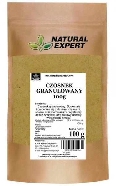 CZOSNEK GRANULOWANY - NATURAL EXPERT