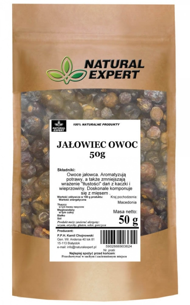 JAŁOWIEC OWOC - NATURAL EXPERT