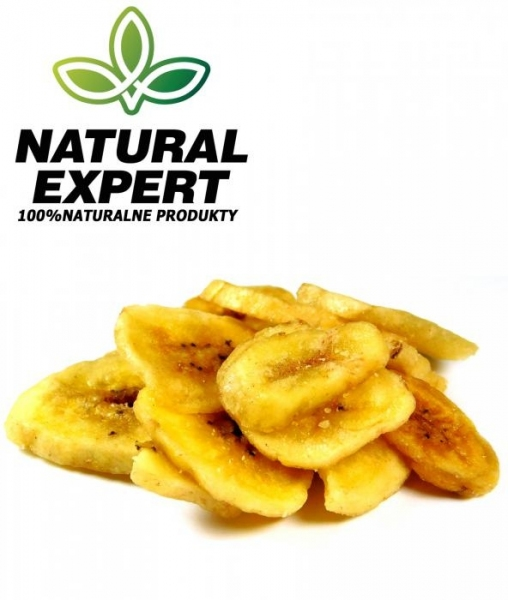 CHIPSY BANANOWE  NATURAL EXPERT