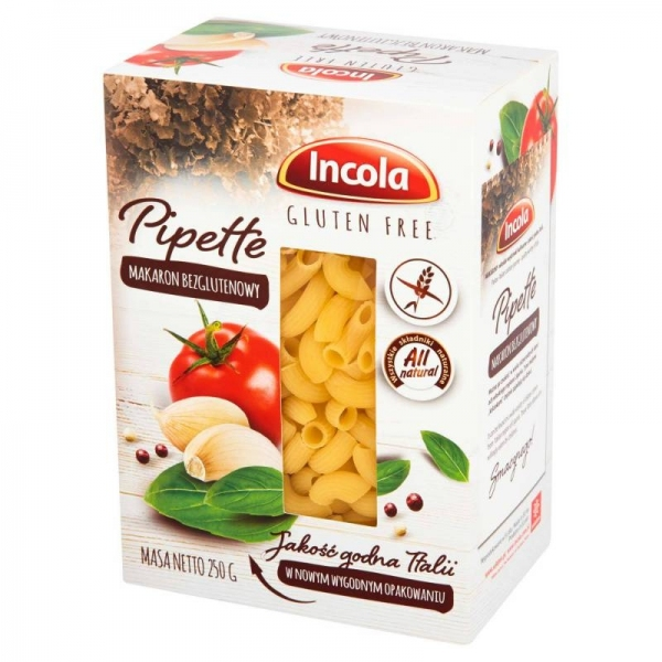 MAKARON PIPETTE BEZGLUTENOWY 250g INCOLA