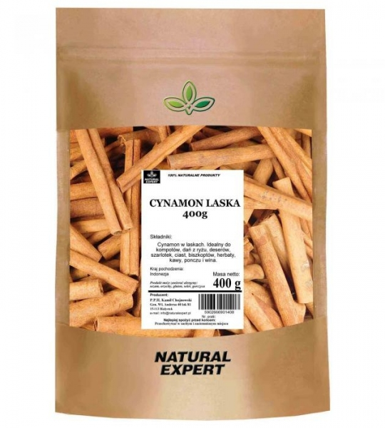 CYNAMON LASKA - NATURAL EXPERT