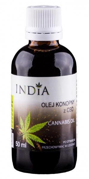 INDIA Olej z CBD 5%-10ml