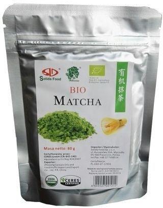 HERBATA MATCHA BIO 80 g - SOLIDA FOOD