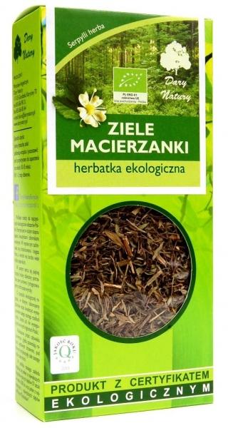 HERBATKA ZIELE MACIERZANKI BIO 25 g - DARY NATURY